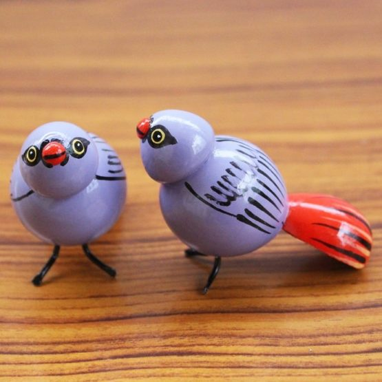 Blue Sparrow Showpiece (3)