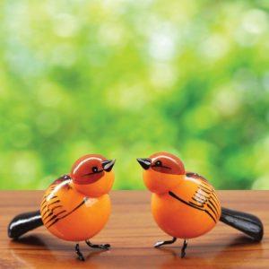 Brown Sparrow Showpiece (1)