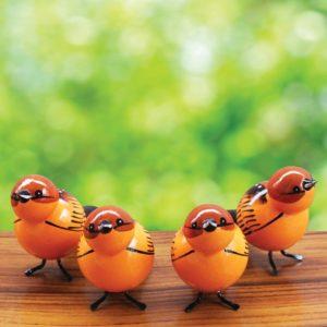 Brown Sparrow Showpiece (2)