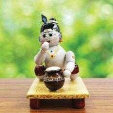 Etikoppaka Crawling Krishna Toy (2)