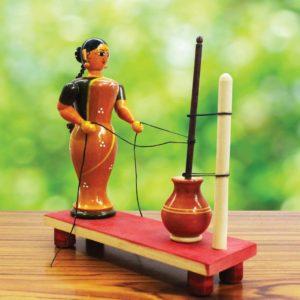 Etikoppaka Ghee Making Doll (1)