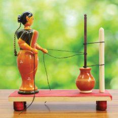 Etikoppaka Ghee Making Doll (2)