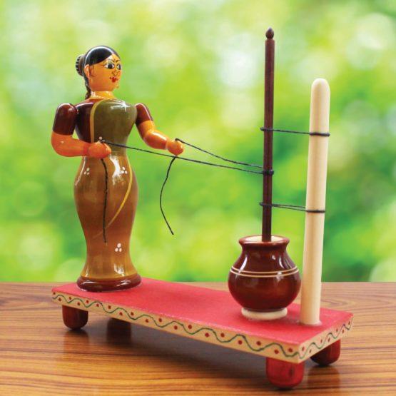 Etikoppaka Ghee Making Toy (1)