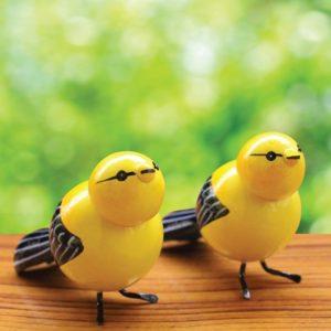 Etikoppaka Yellow Sparrow Showpiece (1)