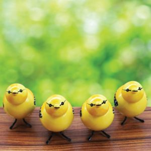 Etikoppaka Yellow Sparrow Showpiece (2)