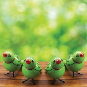 Green Sparrow Showpiece (2)