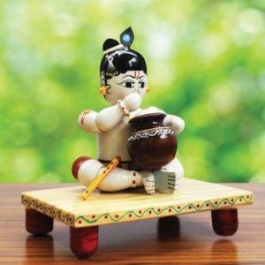 Krishna Wooden Craft Online (2)
