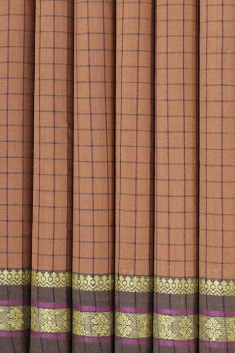 Traditional Pure Cotton Saree - GiTAGGED 4
