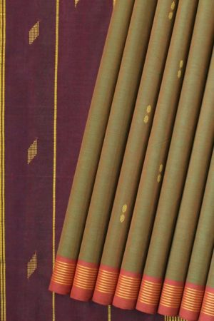 Udupi Pure Cotton Saree Online 1