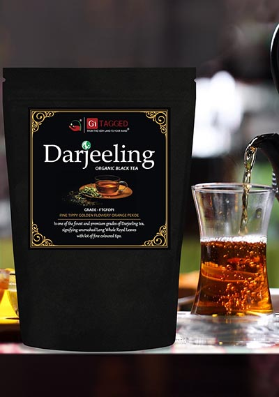 DARJEELING TEA GITAGGED