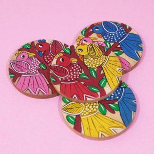 Premium Wooden Coasters