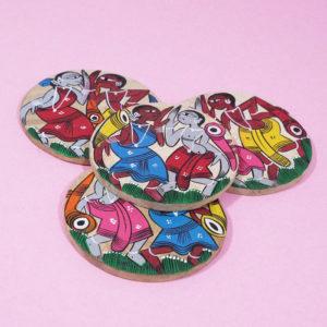Premium Wooden Coaster