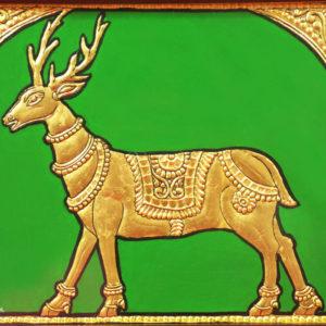 Golden Deer Mysore Painting