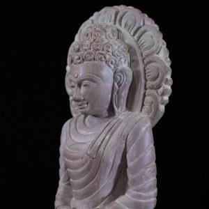 Konark Stone Carving Buddha Statue