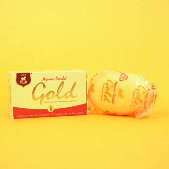 Mysore Sandal Soap Gold 125g