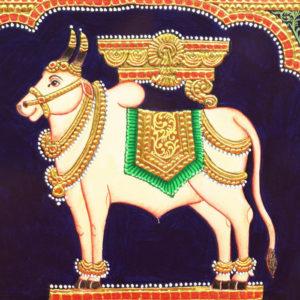 Pattada Nandi Mysore Painting