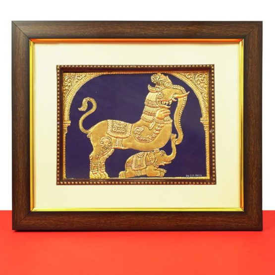 Royal Symbol Mysore Painting