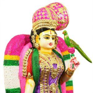 Thirukannur Papier Mache Andalamma Goddess