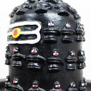 Thirukannur Papier Mache Big Shivalinga with 108 Small Shivalinga