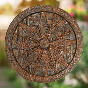 Thirukannur Papier Mache Craft Konark Wheel GiTAGGED