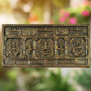 Thirukannur Papier Mache - Lakshmi, Saraswathy, Vinayaka